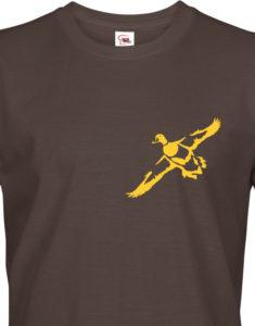 Tričko pro myslivce s kachnou - dárek na narozeniny nebo Vánoce