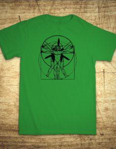 Tričko s motivem Paramotor Da Vinci