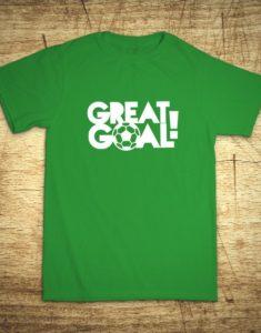 Tričko s motívom Great goal