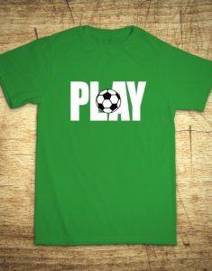 Tričko s motívom Play