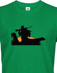 Triko s potiskem pro myslivce konec lovu - super myslivecké tričko