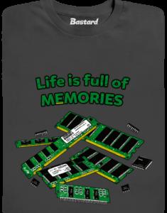 Uchováno v paměti pánské tričko