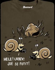 Urbex pánské tričko