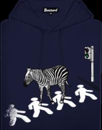Zebra pánská mikina